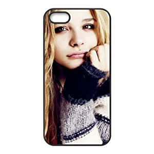 Creative Chloe Grace Design Solid Rubber Customized Cover Case for iPhone 5 5s 5s-linda790