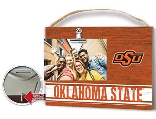 KH Sports Fan Clip It Colored Logo Photo Frame Oklahoma State Cowboys - Oklahoma State Cowboys Tabletop