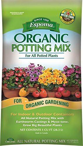 Espoma 16-Quart Organic potting mix