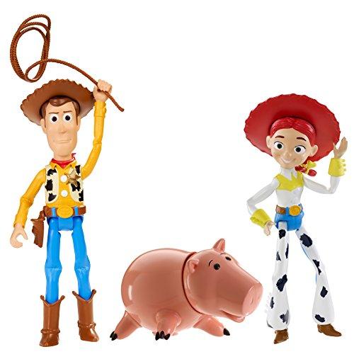 Disney/Pixar Toy Story 4″ Basic Figures #4 (3 Pack)