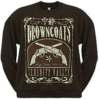 Firefly - Mens Browncoats Serenity Valley Crew Neck Sweatshirt