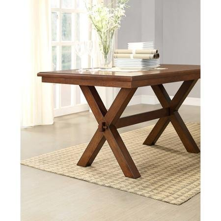 Better Homes and Gardens Maddox Crossing Dining Table, Brown by BLOSSOMZ