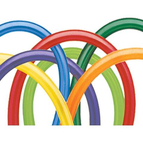 (Qualatex 350Q Medium Sized Twisting Balloons, Carnival Assortment - Pack of)