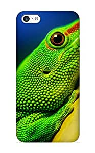Christmas Day's Gift- New Arrival Cover Case With Nice Design For Iphone 5c- Animal Lizard