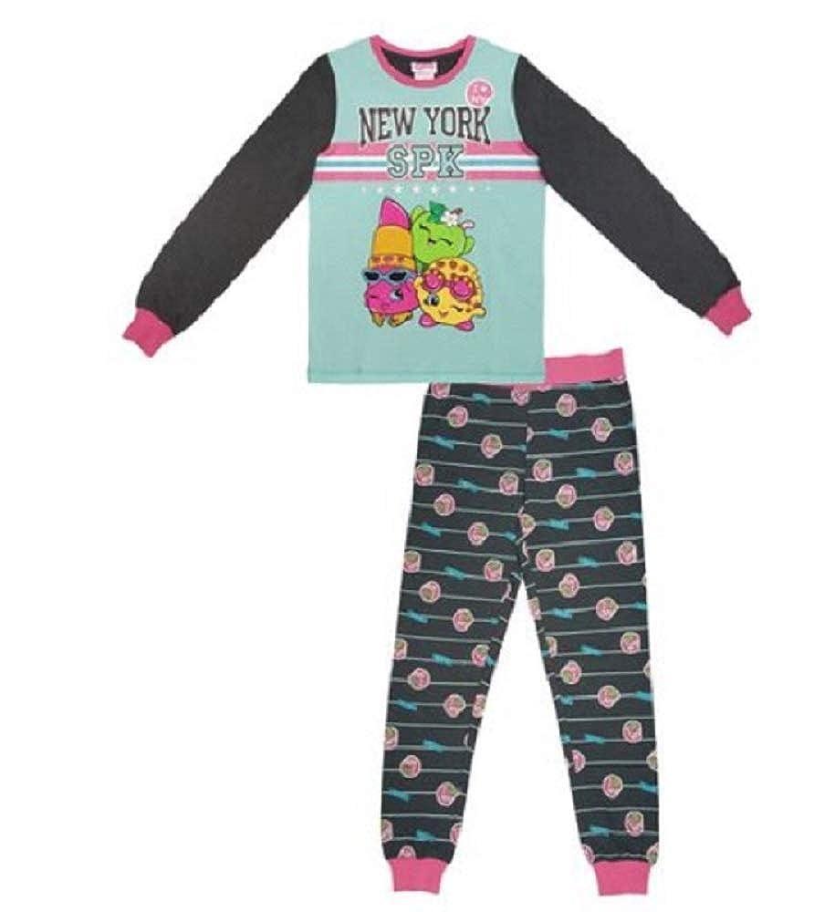 Shopkins Girls 2-Piece Long Sleeve Pajama Set Extra Small
