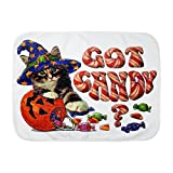 Royal Lion Baby Blanket White Halloween Got Candy Kitten Pumpkin