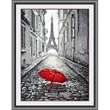 top best Glory GNI Red Umbrella Counted Kit
