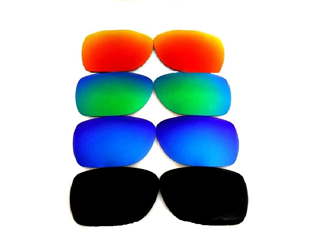 Galaxy Replacement Lenses For Electric Knoxville XL Sunglasses Black Polarized