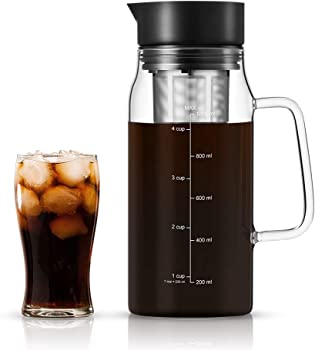 Soulhand Cold Brew Iced Coffee Maker Cold 34oz/1.0ML Coffee Maker