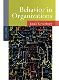 img - for Behavior in Organizations book / textbook / text book