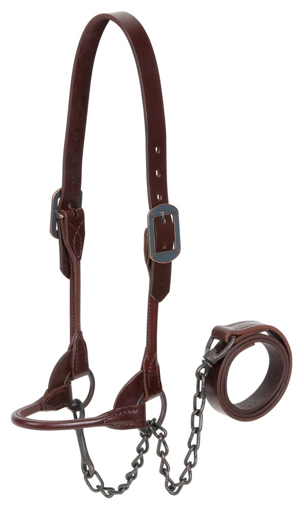 Brown Medium Brown Medium Weaver Leather 4-H Show Halter