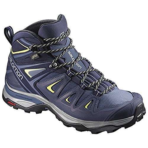 Salomon Womens X Ultra 3 Mid Gtx W Scarpa Da Escursionismo Corona Blu / Blu Sera / Sole Lime