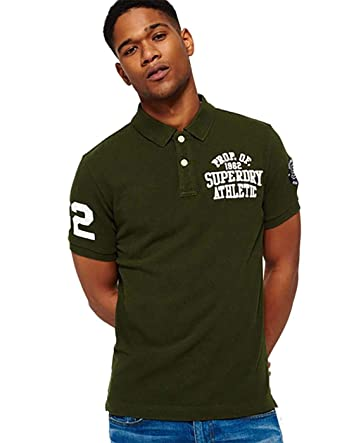 Superdry Polo Classic Superstate Khaki XXXL Verde: Amazon.es: Ropa ...