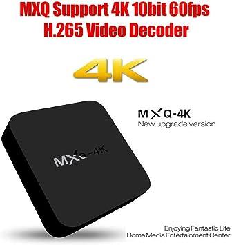 4K Inteligente Android TV Box Android Quad Core de 32 bits 1GB / 8GB UHD 4K HDMI