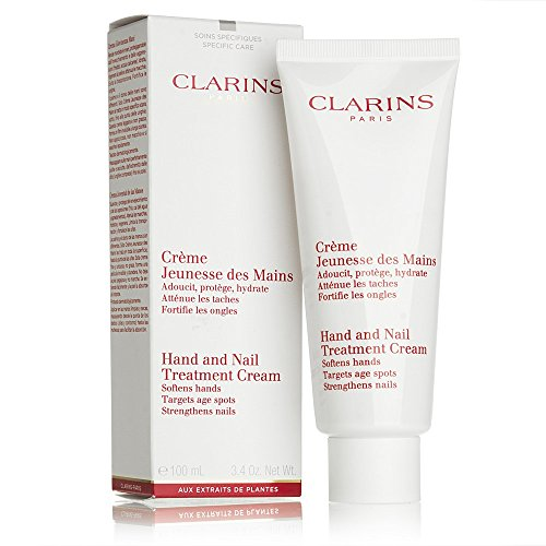 Clarins Hand & Nail Treatment Cream, 3.4-Ounce