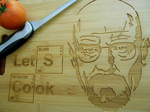 Bamboo Breaking Bad cutting board