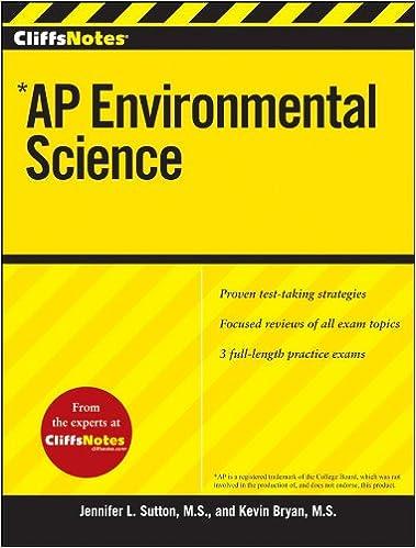 Amazon Com Cliffsnotes Ap Environmental Science Cliffs Ap Ebook