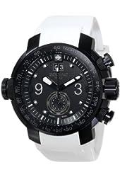 Zodiac ZMX Men's ZO8545 Special Ops Analog Display Swiss Quartz White Watch