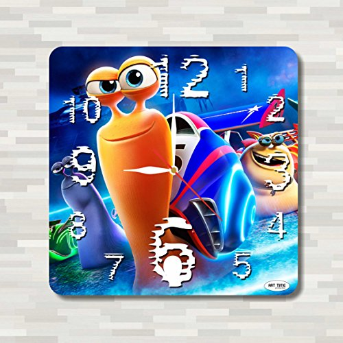 [Turbo 11.8'' Handmade unique Wall Clock - Get unique décor for home or office – Best gift ideas for kids, friends, parents] (Turbo The Snail Costume)