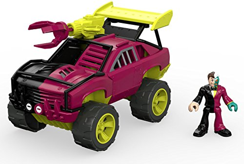 Fisher-Price Imaginext Streets of Gotham City Two-Face & SUV Action Figure ()