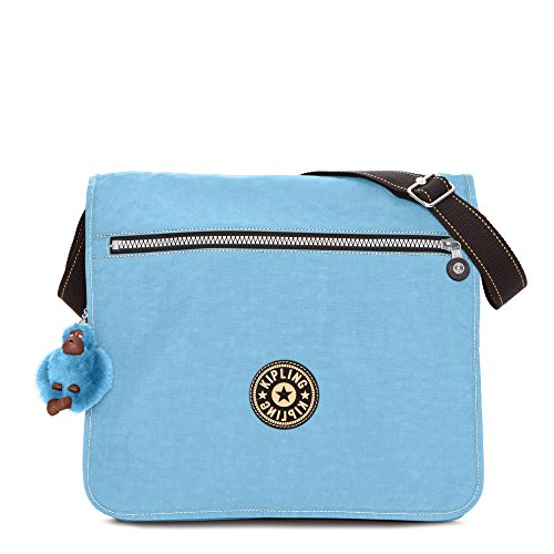 ouse Messenger Bag One Size Blue Grey ()