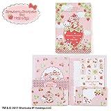 Sanrio Hello Kitty × Strawberry Shortcake Cased Letter Set From Japan New