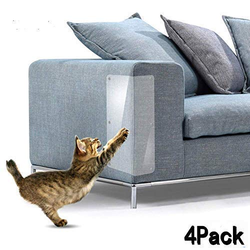 Yong Cat Furniture Protector (Set of 4), Clear Self-Adhesive Pet Scratch Guard for Furniture,Sofa,Upholstery, Wall, Mattress, Car Seat, Door Protector Pad - (20