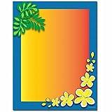 Tropical Paradise Letterhead Laser & Inkjet Printer Paper, 100 pack