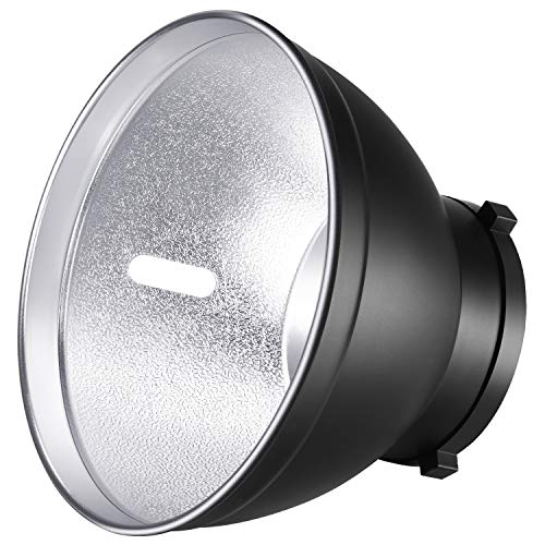 (Neewer 7 inches/18 Centimeters Standard Reflector Diffuser Lamp Shade Dish for Bowens Mount Studio Strobe Flash Speedlite Like Neewer Vision 4,Vision 5,DS300,SK300,SK400,S-300N,S-400N,NW600BM)