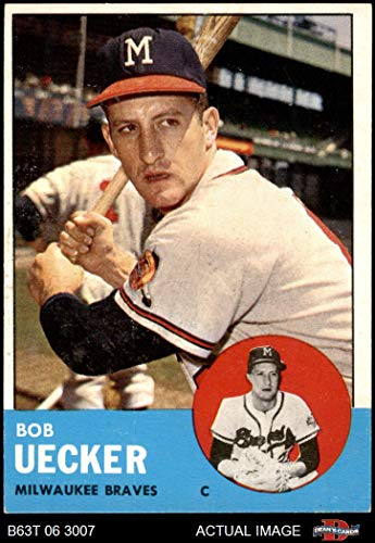 1963 Topps # 126 Bob Uecker Milwaukee