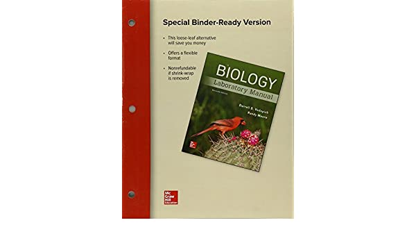 Amazon loose leaf for biology laboratory manual 9781259663031 amazon loose leaf for biology laboratory manual 9781259663031 darrell s vodopich randy moore books fandeluxe Choice Image