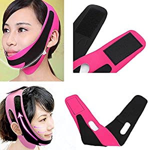 Vinmax Face Slimming Cheek Mask Breathable Chin Strap Lift Up Anti Wrinkle Mask Ultra-thin V Face Line Slim Up Belt Reduce Double Chin