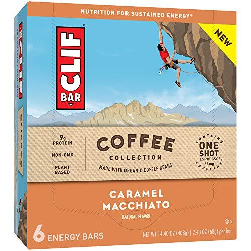 Clif Bar Energy Bar, Caramel Macchiato, 2.4 Ounce, 6 Count