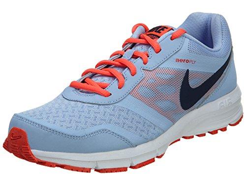 Nike Women's Wmns Air Relentless 4 MSL, ALUMINUM/MID NAVY-BRIGHT CRIMSON-WHITE, 9 US
