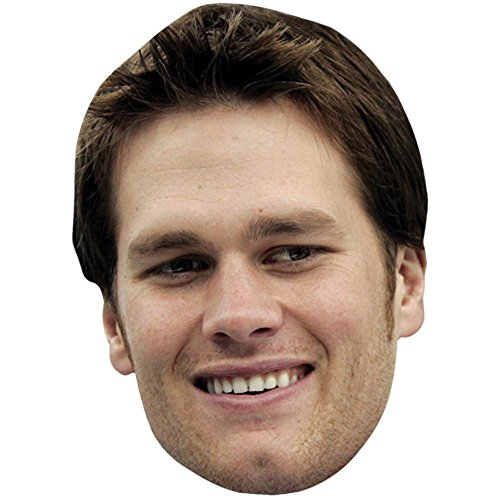 Tom Brady Celebrity Mask, Card Face and Fancy Dress Mask (Celebrity Gift)