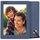 Nixplay Seed 8 Inch WiFi Cloud Digital Photo Frame with IPS Display, iPhone & Android App, Free 10GB Online Storage and Motion Sensor (Blue)