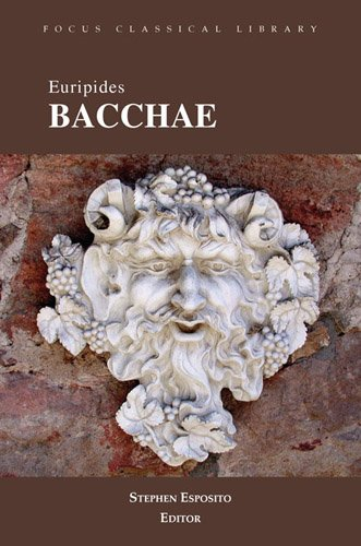"an analysis of the artistic theme in the play the bacchae of euripides Artistic theme of the bacchae of euripides 453 words 2 pages my artistic theme is about the play ""the bacchae of euripides"" and how the god dionysusis irrational behavior is in accord with that of alcibiades in plato's symposium."