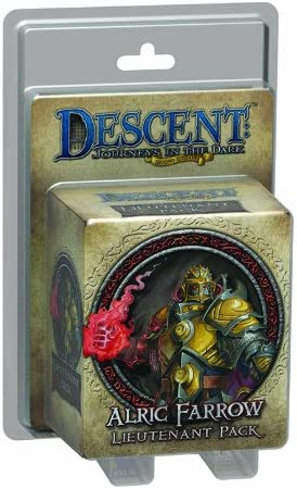 Descent Second Edition: Alric Farrow Lieutenant Miniature: Amazon.es: Juguetes y juegos
