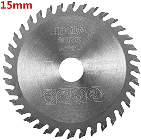 HILDA 10mm//15mm 80 Teeth HSS Saw Blade 85x1.5mm Cutting Disc for Plastic Acryli