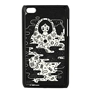 iPod Touch 4 Case Black THE MAGICIAN FY1517609
