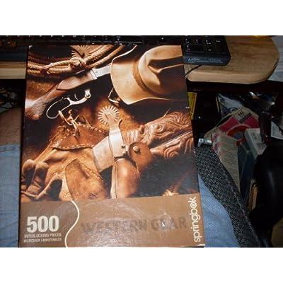 Springbok Western Gear 500 Pc Puzzle By Springbok