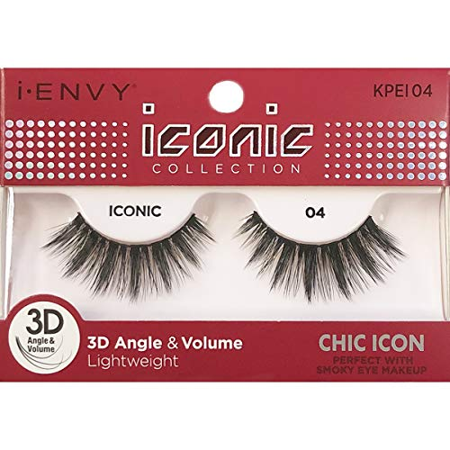 e7f6283a49b i Envy by Kiss iconic 3D Angle & Volume Lashes CHIC ICON 04 (2 Pack