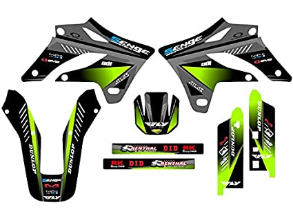 Amazon.com: Senge Graphics 2004-2007 Kawasaki KLX 250, Surge ...