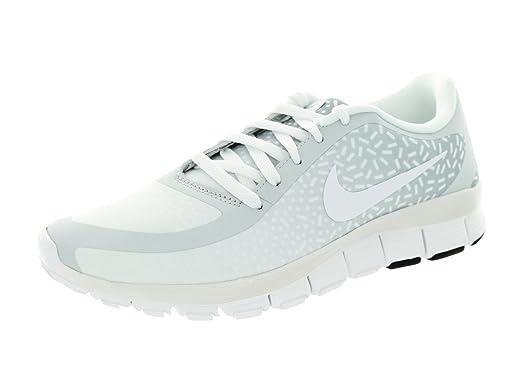 Nike Women's Free 5.0 V4 Ns Pt Pure Platinum/White/White Running Shoe 10