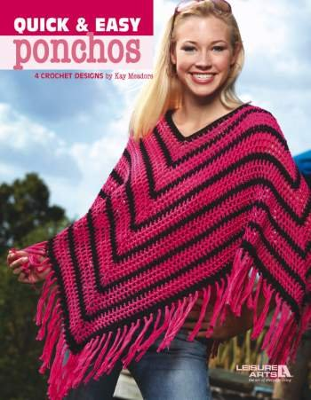 Amazoncom Quick Easy Ponchos Crochet Patterns