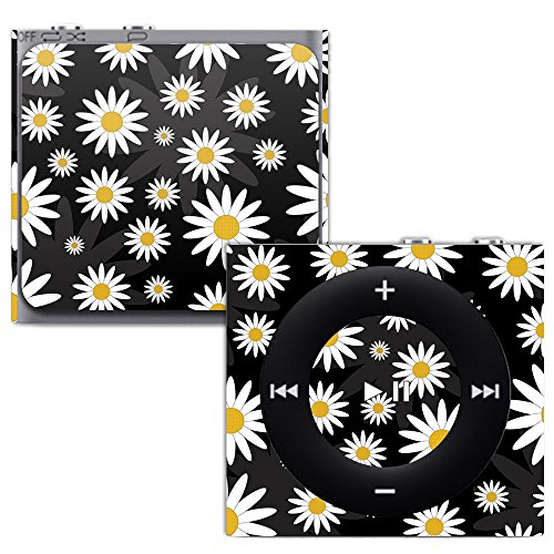 MightySkins Skin for Apple iPod Shuffle 4G - Daisies | Protective, Durable, and Unique Vinyl Decal wrap Cover | Easy to Apply, Remove, and Change Styles | Made in The USA (Silicone Shuffle Protective Case)
