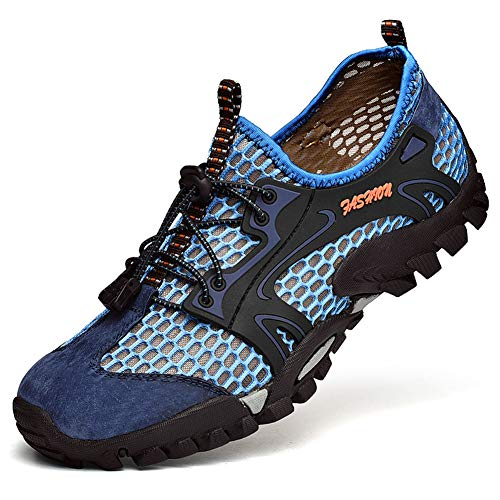 FLARUT Shoes Climbing Backpacking Men Sports Running Sneakers Trekking Outdoor blue Hiking Boots B rrp8UB