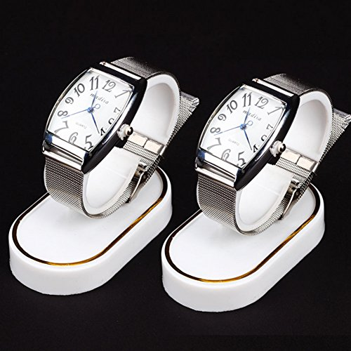- Wrist Watch Display Rack Holder Sale Show Case Stand Tool White Plastic