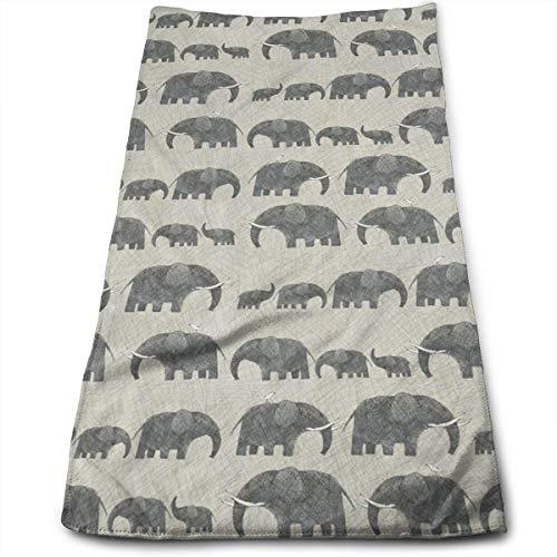 OLOSARO AMBOSELI Kenya Elephant Parade Sports Towel Travel Multi-Purpose Fast Dry Swimming Camping Hiking Yoga Hair Beauty Cleaning Furniture 11.8
