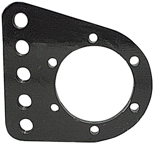 "Allstar ALL60170 1/2"" Steel 5-Hole Design Pan Hard Bar Bracket for Quick Change Rear End"